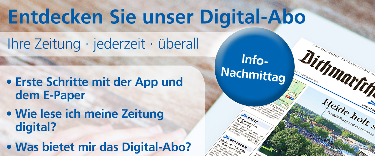 Digital-Abo Infonachmittage