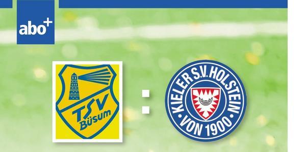 TSV Büsum empfängt Holstein Kiel - beendet