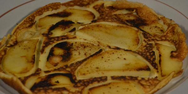 Ganz einfach: Apfelpfannkuchen