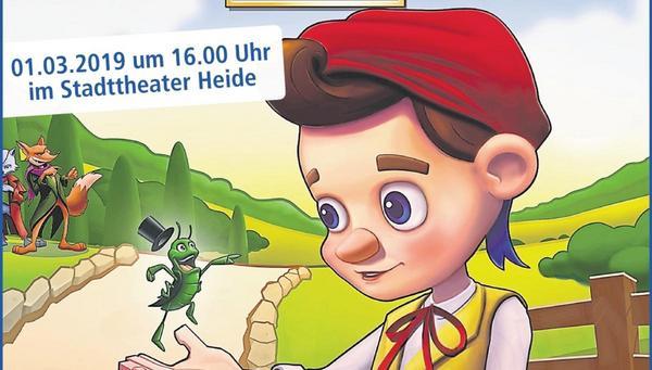 2 € Ticket-Rabatt für das Pinocchio Musical - beendet