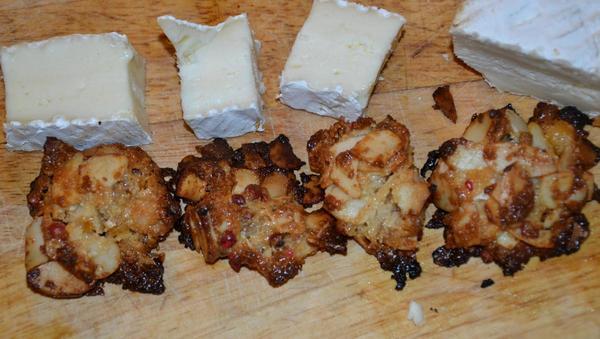 Brie de Meaux mit Pfeffer-Florentiner