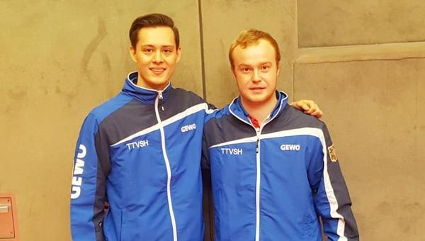 Dithmarscher überrascht bei Tischtennis-Meisterschaft