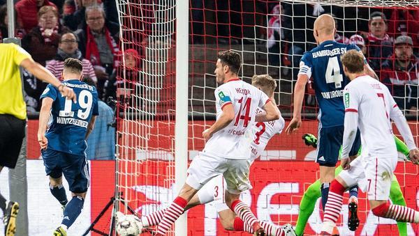 Ein Nobody rettet dem Hamburger SV einen Punkt beim 1. FC Köln
