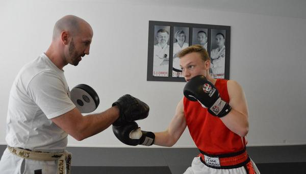 Boxer Bjarne Thoms ist Deutscher Meister im Mittelgewicht
