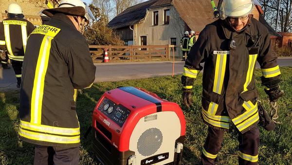 Neue Pumpe eingeweiht