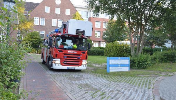 Feuerwehreinsatz beim WKK: Patient zündelte wohl