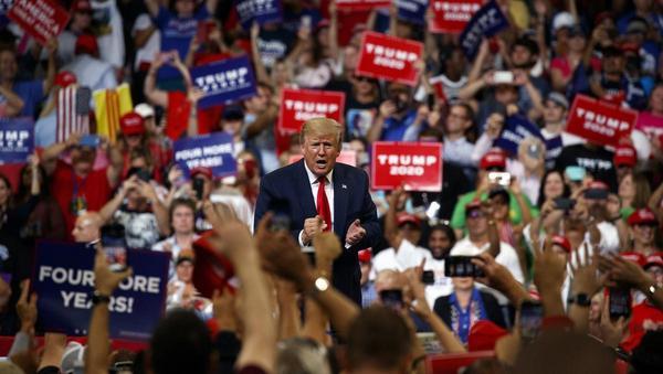 Trumps Wahlkampfauftakt: Gewohnte Mischung
