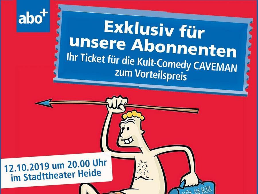 CAVEMAN-Ticket zum Vorteilspreis