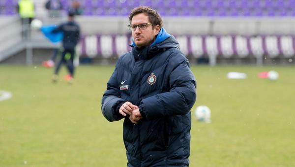 Hannes Drews trainiert beim Hamburger SV II bekannte Größen