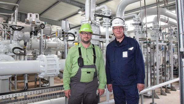 Kavernengesellschaft lagert Mineralöl für den Notfall