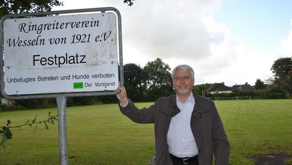 Wesseln kauft Ringreiterplatz als Gemeindefestwiese