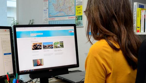 Parteien vernachlässigen ihre Internetseiten