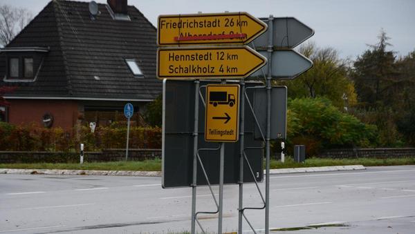 Absperrungen vergessen: Albersdorf immer noch durchgestrichen