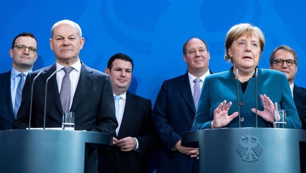 Halbzeitbilanz der Koalition: Optimismus und Eigenlob
