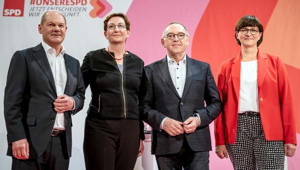 Stichwahl um SPD-Vorsitz: Problemverschleppung