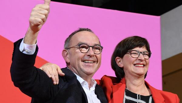 Wahl der SPD-Führung: Selbstzerstörerisch