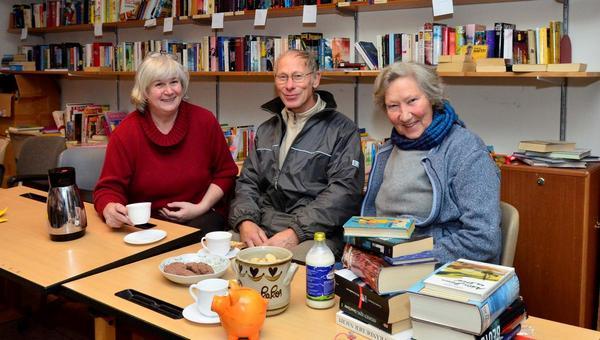 Büchertauschbörse in Neufeld wurde kaum angenommen