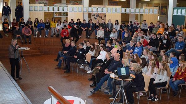 Berufswahlsiegel: Gemeinschaftsschule beteiligt sich mit Poster-Café