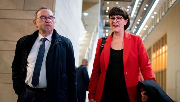 SPD auf Kurssuche: Mit Walter und Eskia
