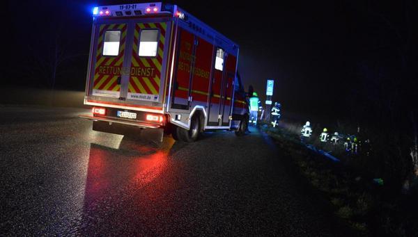 Schwerer Unfall nahe Karolinenkoog