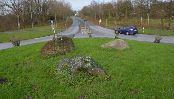 Zufahrten gesperrt: Bauarbeiten am Nordhastedter Kreisverkehr