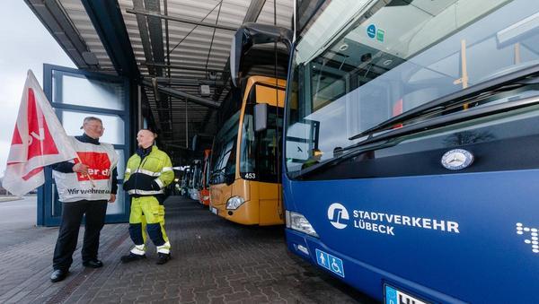 Streik der Busfahrer: Wichtige Stütze bedroht