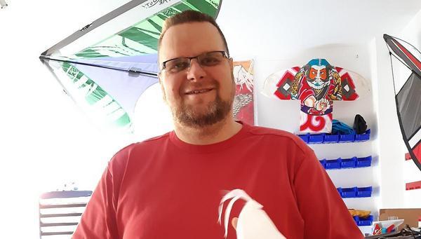 Für Sven Groß wird das abgesagte Drachenflugfest doch noch nützlich
