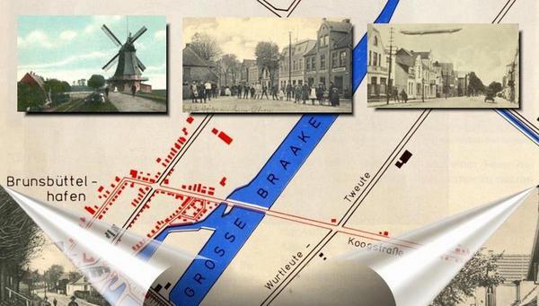 Erinnerungen an den einstigen Ortsteil Brunsbüttelhafen