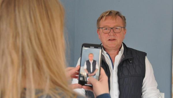 Büsums Bürgermeister appelliert per Videobotschaft an die Vernunft