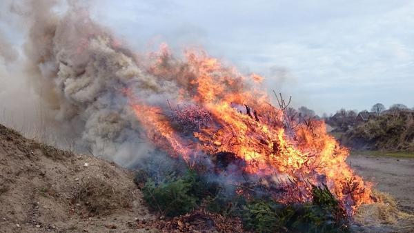 Feuerwehr appelliert: Auf Osterfeuer verzichten