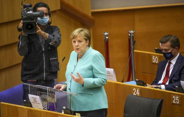 Merkel in Brüssel: Europas größter Wert