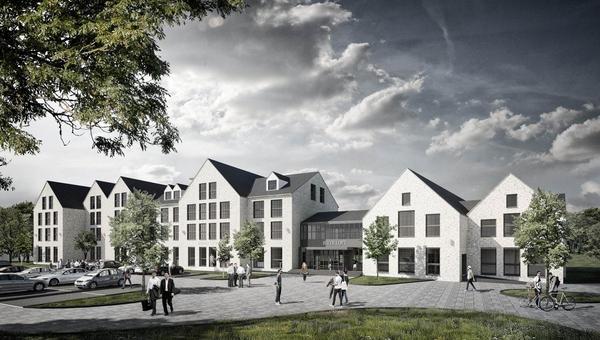 """Planung zum Bau des neuen Hotels """"River Loft"""" im Zeitplan"""