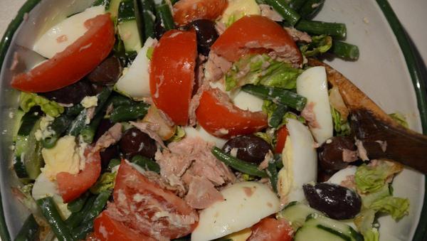 Sommersalat mit Thunfisch