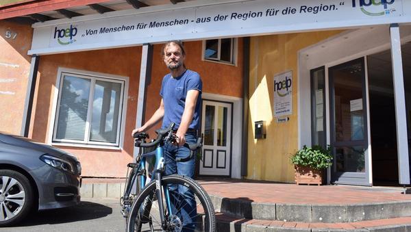 Alexander Rose will für den guten Zweck mit dem Rad nach Toulouse