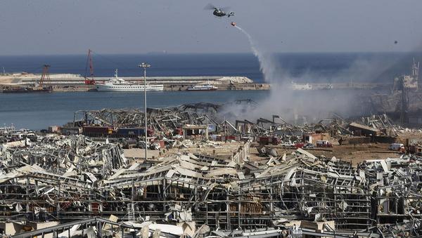 Ammoniumnitrat nach Explosion in Beirut im Fokus