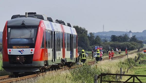 Tödlicher Zugunfall in Heide