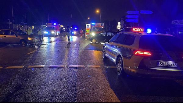 Unfall an der Meldorfer Straße