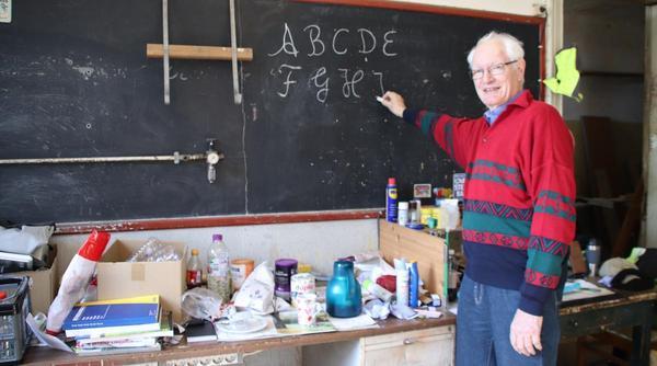 Eine Dorfschule im Wandel
