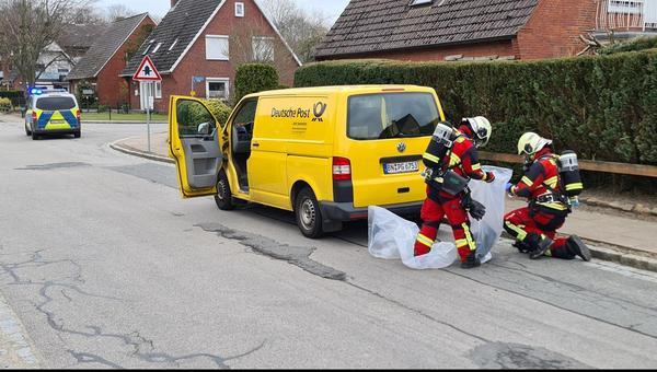Brunsbüttel: Brief sorgt für Feuerwehreinsatz