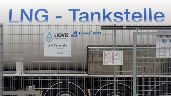 LNG in Brunsbüttel: Das Gas ist schon längst da