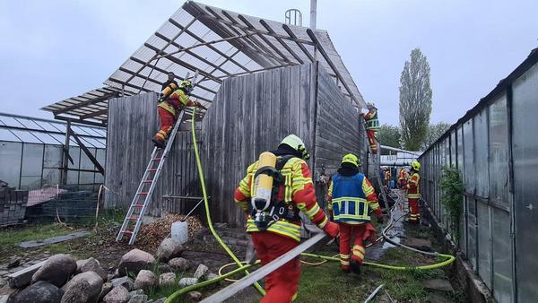 Defekte Heizungsanlage löst Feuer aus