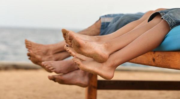Fit, gesund und gut gelüftet: Gut zu Fuß durch den Sommer