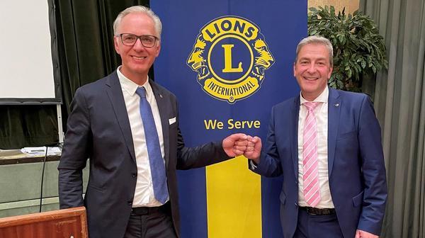 Neuer Lions-Präsident