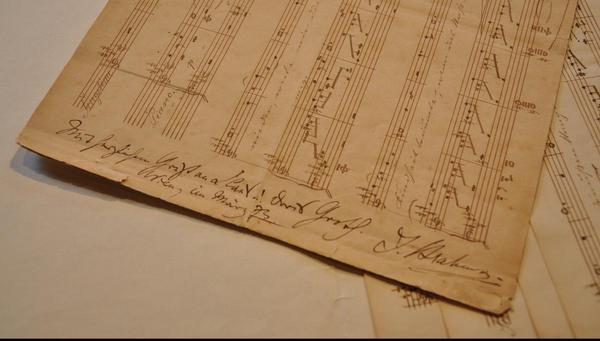 Herzliche Grüße von Johannes Brahms