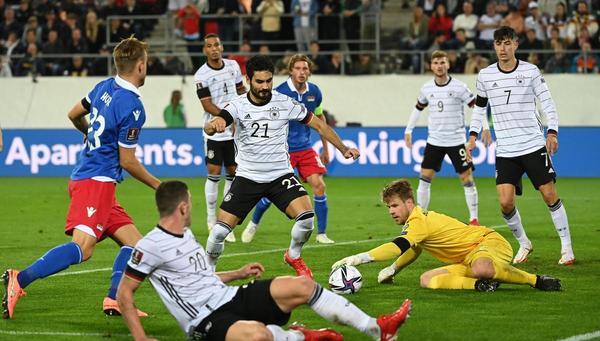 Mühsamer Kick gegen Liechtenstein