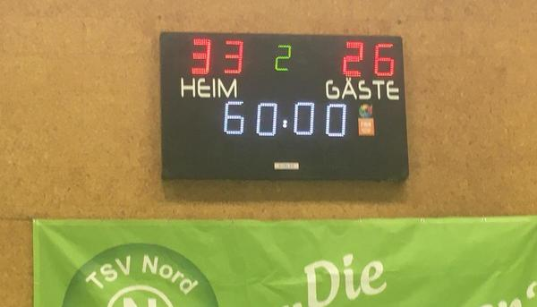 TSV Nord Harrislee gegen MTV Heide in der Statistik