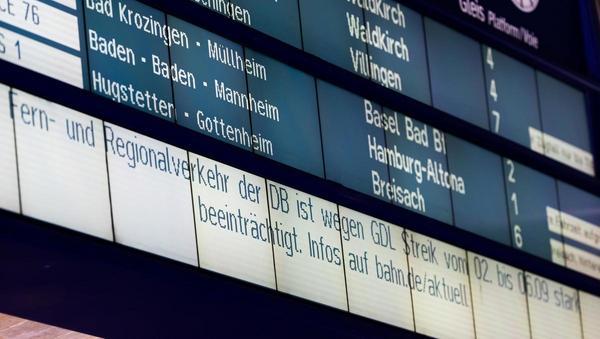 Bahn-Tarifstreit: Starrkopf statt Stärke