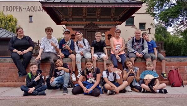 Jugendzentrum besucht Tierpark
