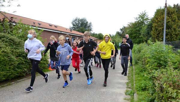 Spenden sammeln beim Laufen