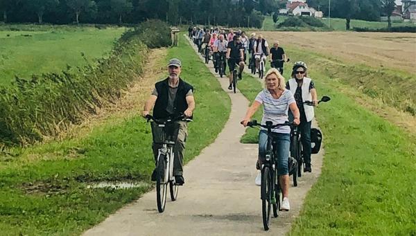 Radtour der Wesselburener CDU